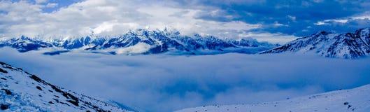 Montaña Gongga Fotos de archivo libres de regalías