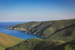 Montaña Grecia Fotos de archivo