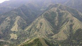 Montaña hermosa en Enrekang almacen de video