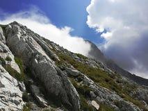 Montaña intacta de Komovi imágenes de archivo libres de regalías