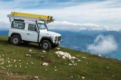 Montaña Jeep Journey imagen de archivo libre de regalías