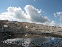 Montaña-lago Foto de archivo