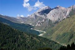 Montaña larga de Huang Imagen de archivo libre de regalías