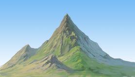 Montaña lejana Imágenes de archivo libres de regalías