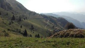 Montaña ligera Fotografía de archivo libre de regalías