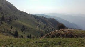 Montaña ligera Foto de archivo libre de regalías