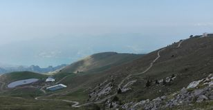 Montaña ligera Foto de archivo