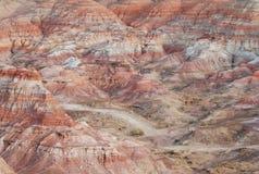 Montaña llameante Imagenes de archivo