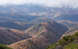 Montaña Lopatina Fotos de archivo libres de regalías