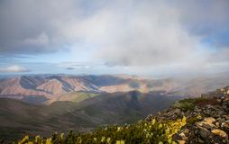 Montaña Lopatina fotos de archivo