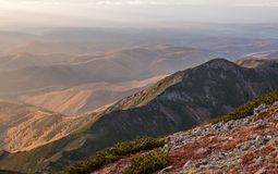 Montaña Lopatina imagen de archivo libre de regalías