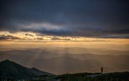 Montaña Lopatina Fotografía de archivo