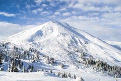 Montaña los 2020m de Pedro Imagenes de archivo