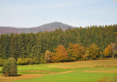 Montaña Lusen, Baviera Fotos de archivo