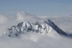 Montaña mística Fotos de archivo libres de regalías