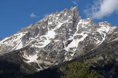 Montaña magnífica de Teton Imagenes de archivo