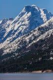 Montaña magnífica de Wyoming de los tetons en el lago de Jackson Fotos de archivo libres de regalías