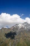Montaña majestuosa de Kazbek Imagen de archivo libre de regalías
