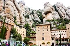 Montaña Montserrat Imagenes de archivo