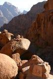 Montaña Mt Sinaí fotos de archivo