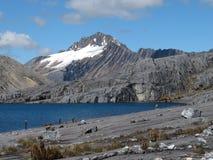 Montaña nevada en Colombia foto de archivo