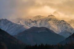 Montaña Nevado en Nagano Japón imágenes de archivo libres de regalías