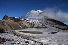 Montaña Ngauruhoe Imágenes de archivo libres de regalías