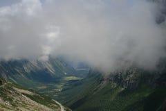 Montaña noruega Imágenes de archivo libres de regalías
