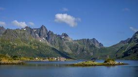 Montaña, Noruega Imagen de archivo libre de regalías