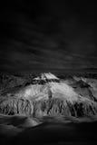 Montaña oscura Foto de archivo libre de regalías