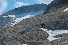 Montaña Pale di San Martín, dolomías Imagen de archivo