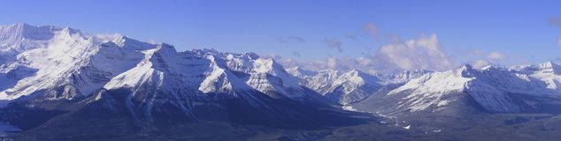 Montaña panorámica imagenes de archivo