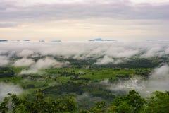 Montaña Phu Thok Fotos de archivo libres de regalías