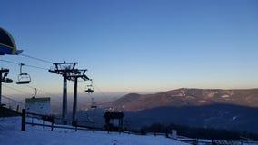 Montaña polaca Imagen de archivo