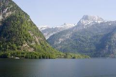 Montaña por traunsee Fotos de archivo