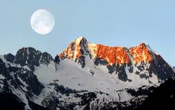 Montaña Presanella - dolomías Italia Foto de archivo libre de regalías