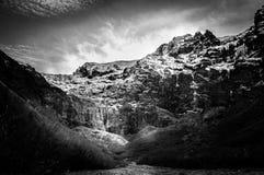 Montaña que truena Fotos de archivo libres de regalías