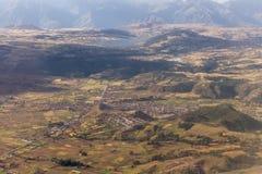 Montaña que vive cerca de Cusco, Perú Imágenes de archivo libres de regalías