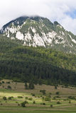 Montaña redonda Foto de archivo