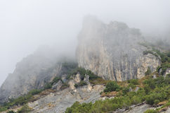 Montaña rocosa Foto de archivo libre de regalías