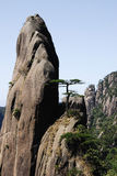 Montaña rocosa alta Fotos de archivo libres de regalías