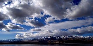 Montaña rocosa Salt Lake City foto de archivo