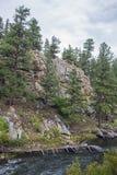 Montaña rocosa strean Fotografía de archivo libre de regalías