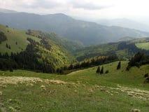 Montaña rumana imagen de archivo