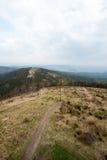 Montaña Ruprechticky Spicak Foto de archivo