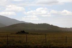 Montaña rural Foto de archivo libre de regalías