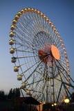 Montaña rusa del parque de atracciones Foto de archivo