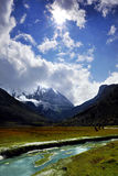 Montaña santa Imágenes de archivo libres de regalías