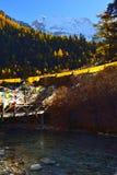 Montaña santa de Xiannairi Imágenes de archivo libres de regalías