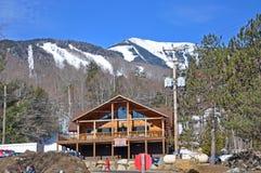 Montaña Ski Area, Adirondacks, los E.E.U.U. de Whiteface Foto de archivo